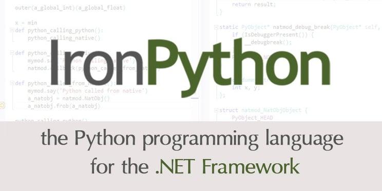 Embedded Iron Python in WPF