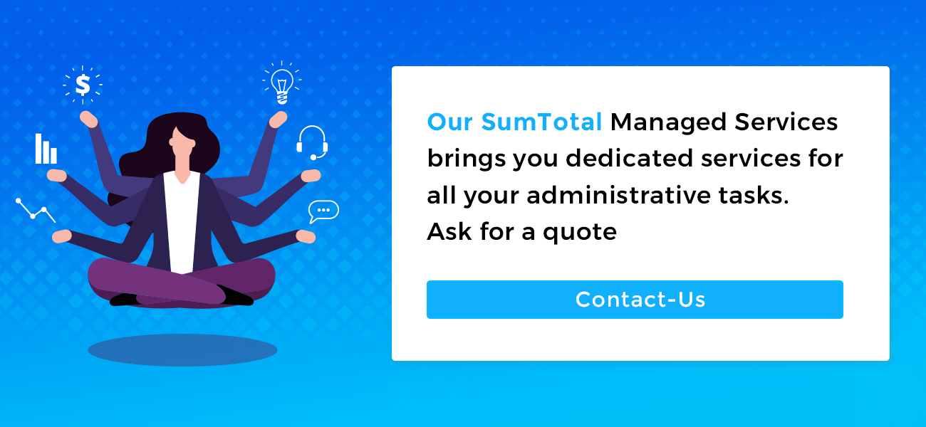 Managed Services- Sumtotal Learning