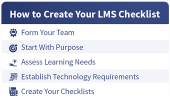 How to Create Your LMS Checklist