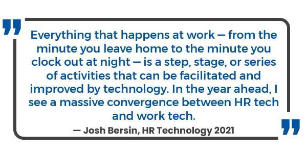 Josh Bersin HR Technology 2021
