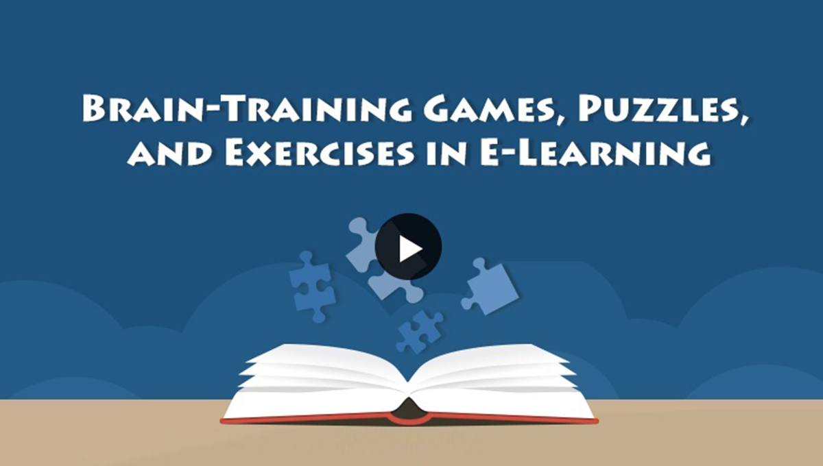 Brain Training Games, Puzzles and Exercises in E-learning