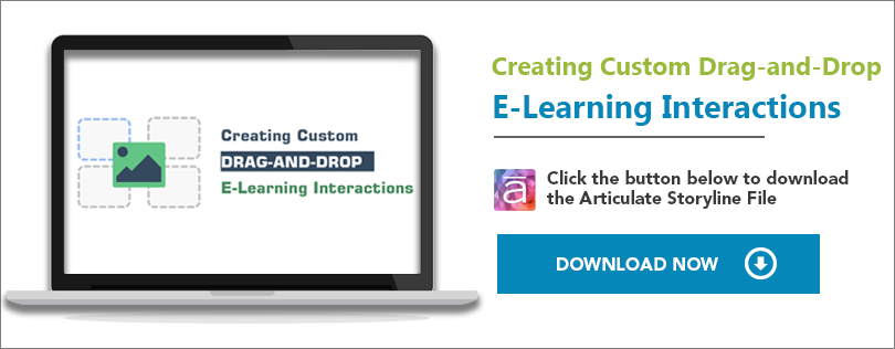 Elearning Challenge - Creating custom drag and drop e-learning interaction